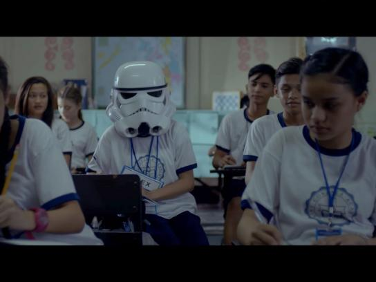 Globe Telecomm Film Ad - Star Wars story