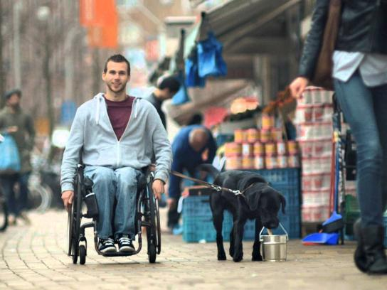 KNGF Guidedogs Digital Ad -  The relationship between a dog and a man