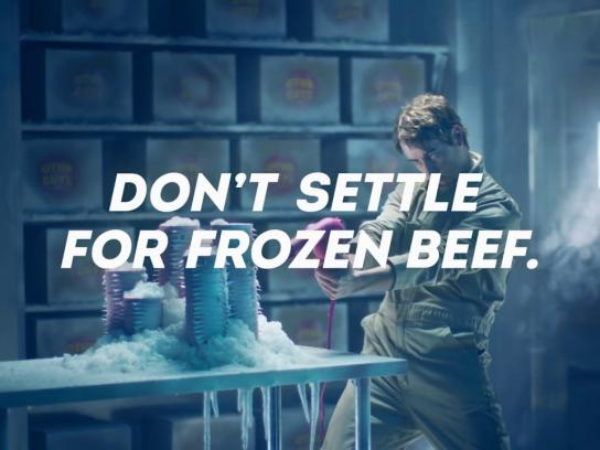 Wendy's Film Ad - Cold storage