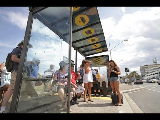 Cancer Institute NSW Ambient Ad -  Sunscreen claw machine