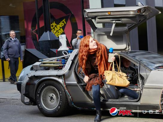 Pepsi Ambient Ad -  The perfect ride
