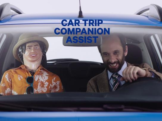 Dacia Film Ad - DACIA Unnecessories - Car Trip Companion Assist