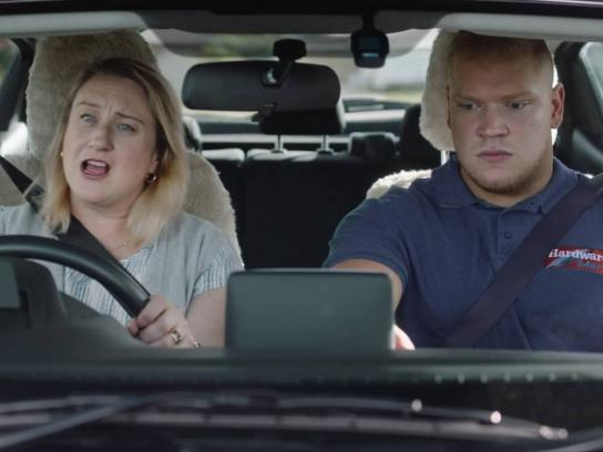 Western Australian Office of Road Safety Film Ad - Time with mum - singing