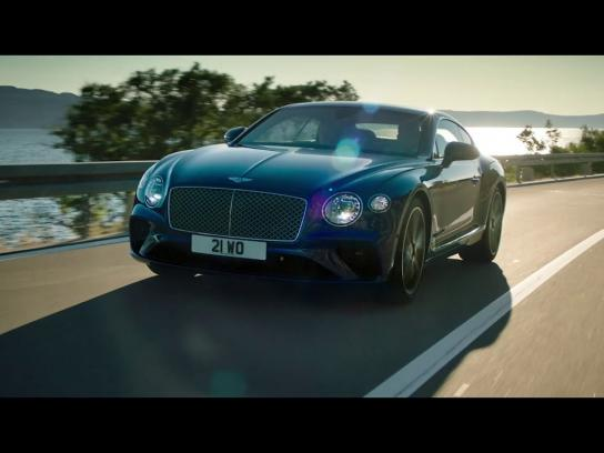 Bentley Film Ad - The New Continental GT has arrived