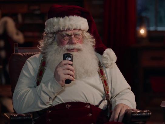 DISH Film Ad - Santa