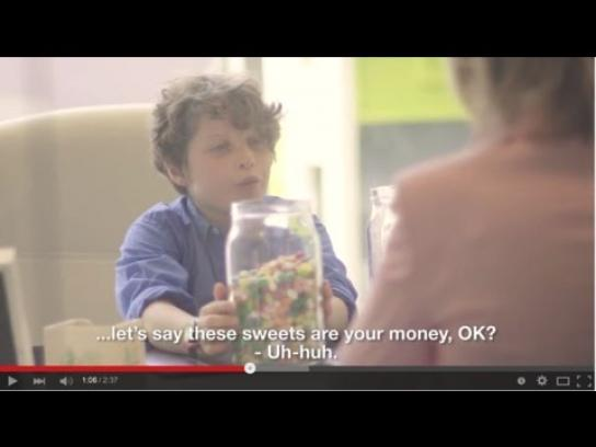 Record Bank Film Ad -  Kids taking over