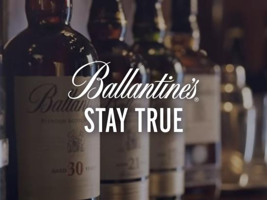 Ballantine's Film Ad -  The Stay True Story of Ballantine's