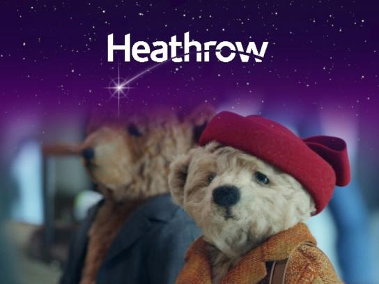 Heathrow Airport Film Ad - Coming home for Christmas