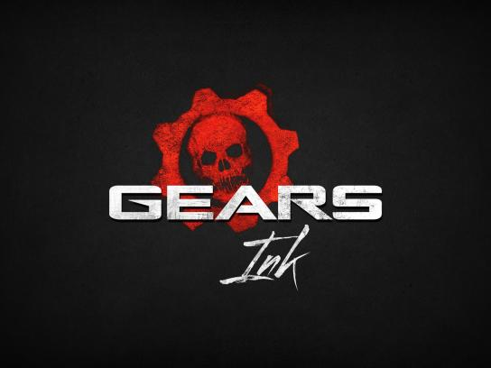 Gears of War Digital Ad -  Gears Ink, 1