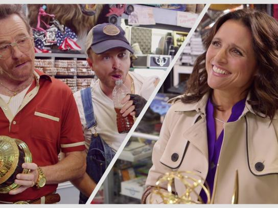 Audi Digital Ad -  Barely Legal Pawn, feat. Bryan Cranston, Aaron Paul and Julia Louis-Dreyfus