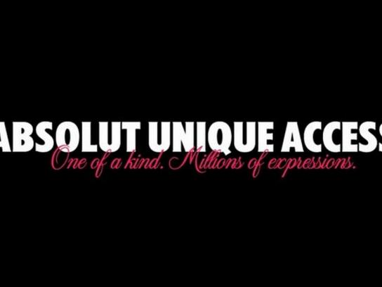Absolut Digital Ad -  Absolut Unique Access