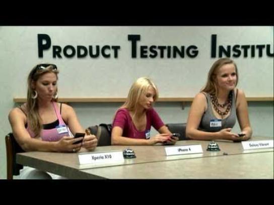 Sony Ericsson Film Ad -  Product Testing Institute, Models