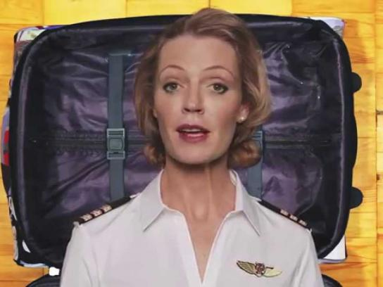 Tigerair Digital Ad -  Wearable luggage