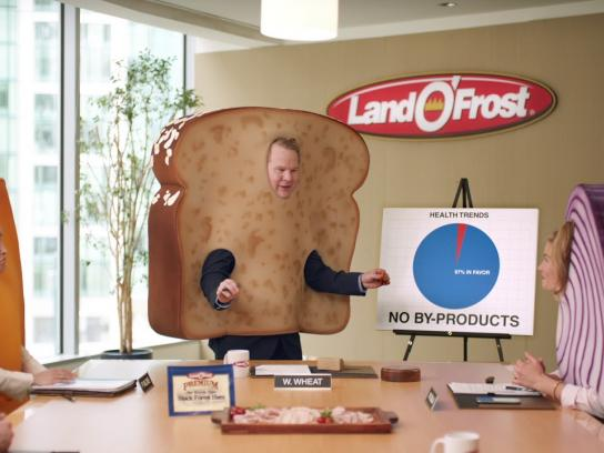 Land O'Frost Film Ad -  Sandwich Conference Call