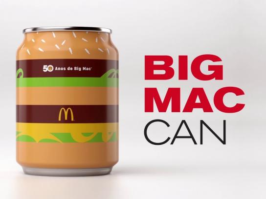 McDonald's Design Ad - Big Mac Can