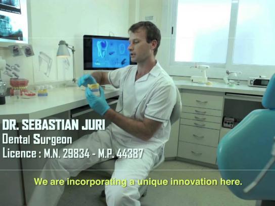 Cerveza Salta Ambient Ad -  Tooth implant
