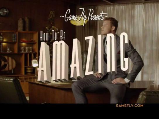 GameFly Film Ad -  Be Amazing