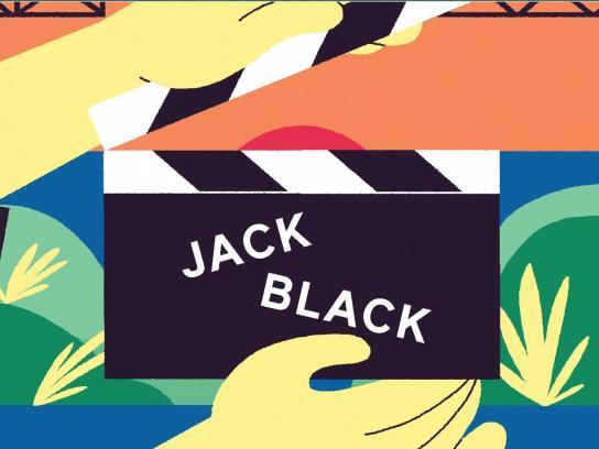 Google Play Digital Ad -  California Inspires Me - Jack Black