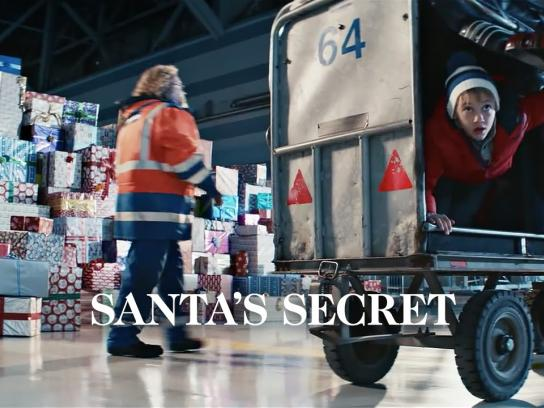 Finnair Film Ad -  Santa's Secret