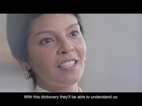 Yo Mujer Outdoor Ad - Cancer Dictionary