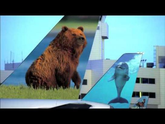 Frontier Airlines Film Ad -  magic