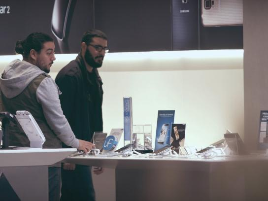 Samsung Ambient Ad -  Pick it up