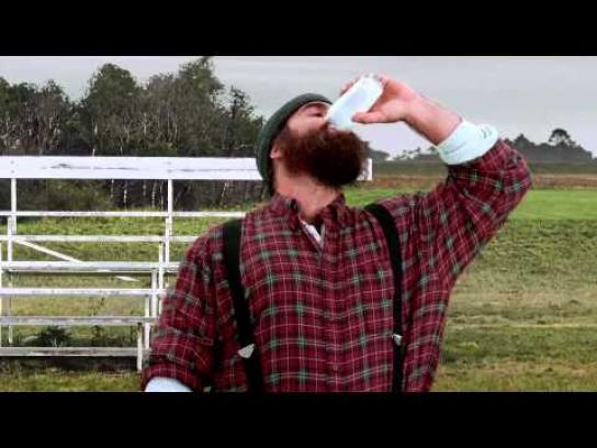 MilkPEP Film Ad -  Milk vs. OJ, 'Turtle Race'