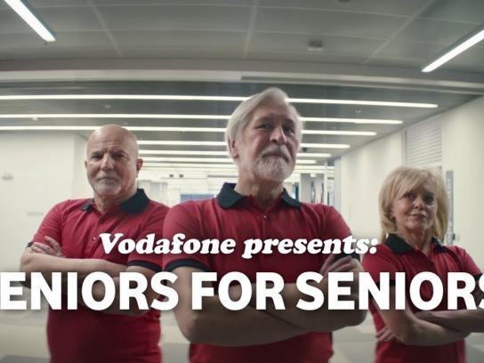 Vodafone Integrated Ad - Seniors for Seniors