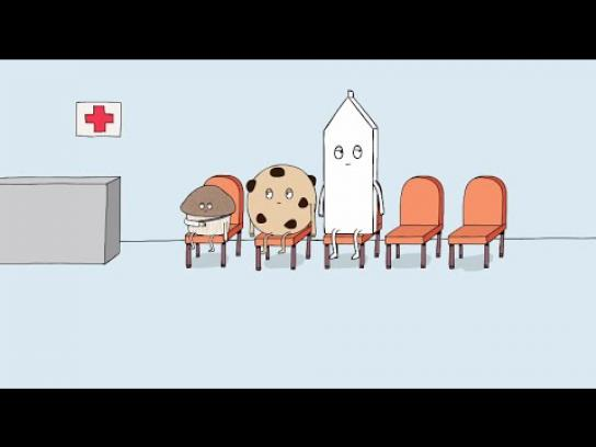 Milk West Digital Ad -  Snack Time - Emergency Room