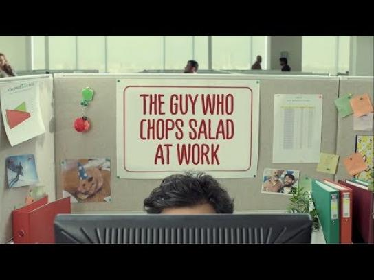 Achla Film Ad - The Guy Who Chops Salad At Work
