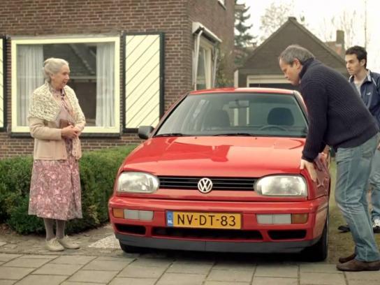 Volkswagen Film Ad -  Old Lady