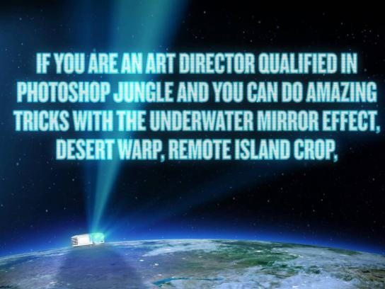 Jandl Film Ad -  Looking for Art Director