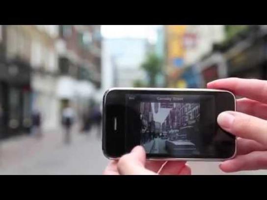Museum of London Digital Ad -  Streetmuseum app
