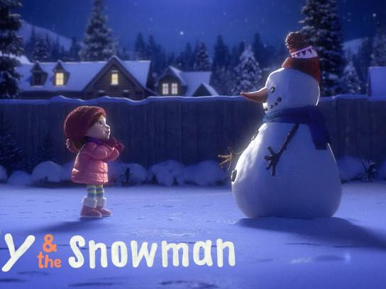 Cineplex Film Ad -  Lily & the Snowman