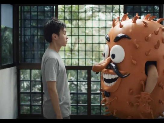 Schick Film Ad -  Stop the Irrito!, The Elevator
