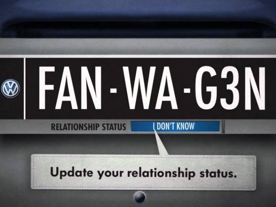 Volkswagen Digital Ad -  Fanwagen