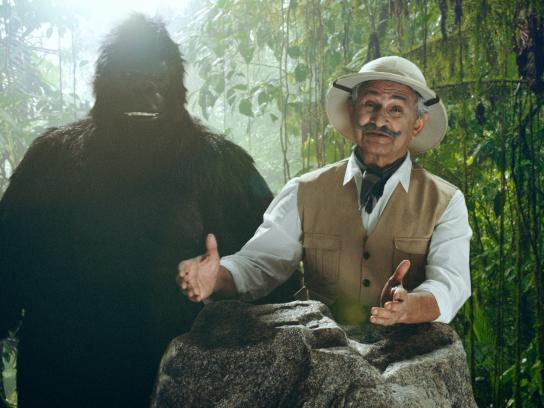 Goyal & Co Film Ad - Arm-wrestling a Gorilla, 2