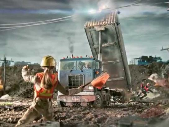 Electrical Safety Authority Film Ad -  Respect the power at work