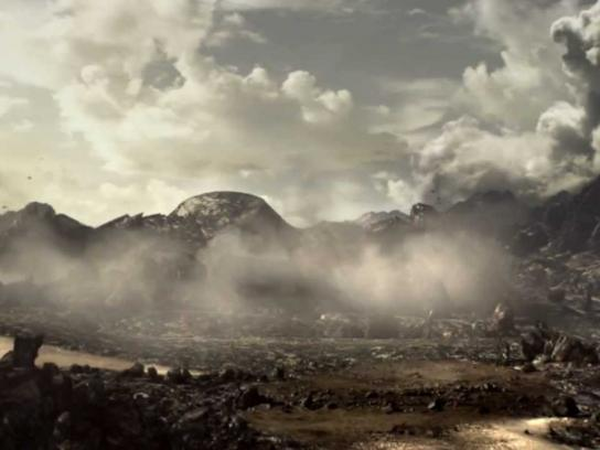 Lamborghini Film Ad -  The channelling of the Four Elements