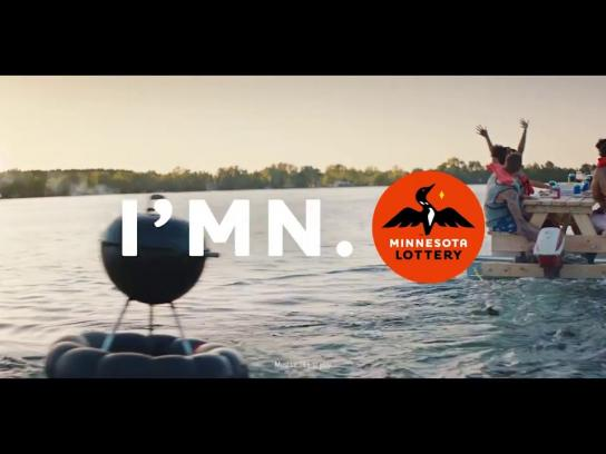 Minnesota State Lottery Film Ad - I'MN - Boat