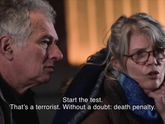Amnesty International Digital Ad - The Death Penalty Test