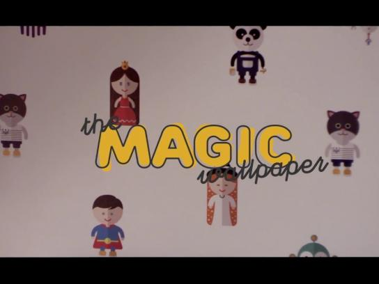Castorama Ambient Ad - The Magic Wallpaper