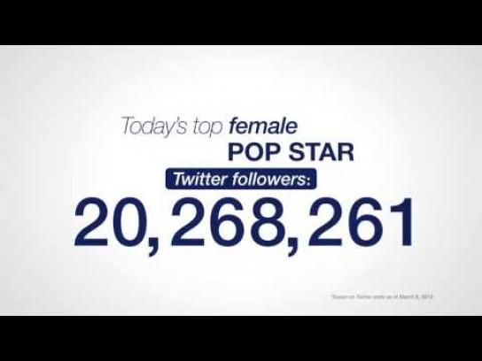 Dove Digital Ad -  Followers