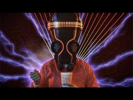 Cup Noodle Film Ad - I'm just warmin' up - DJ