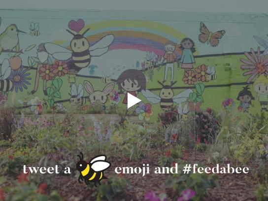 Bayer Crop Science Digital Ad - Feed a bee