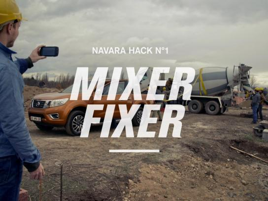 Nissan Digital Ad -  Work Hack - Mixer-Fixer