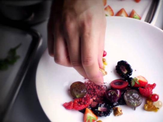 Electrolux Film Ad -  Fresh Berries with Roasted Almonds