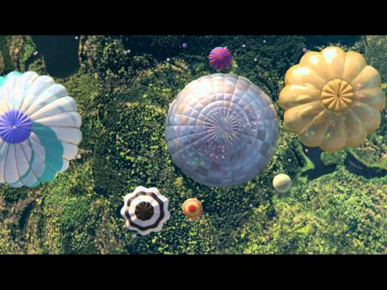 Perrier Film Ad -  Hot air balloons
