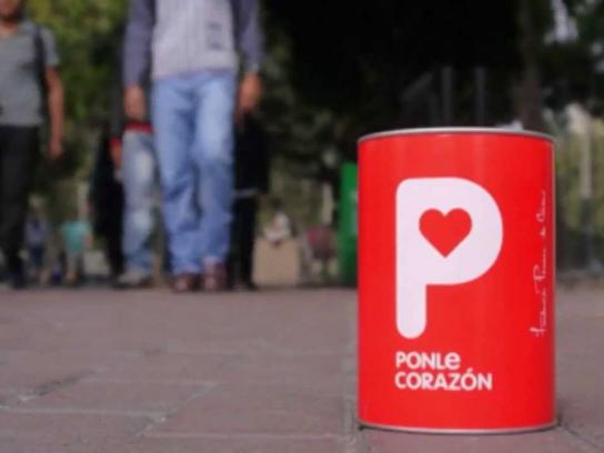 Peruvian Cancer Foundation Ambient Ad -  Searching for hearts