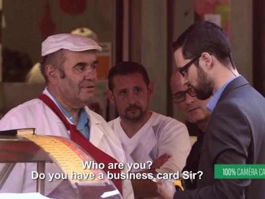 BNP Paribas Film Ad - President